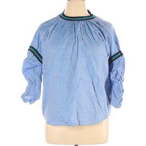Zara Basic 3/4 Sleeve Blouse